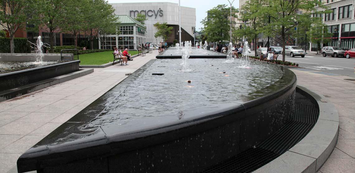 Renaissance Plaza Fountain Water Feature