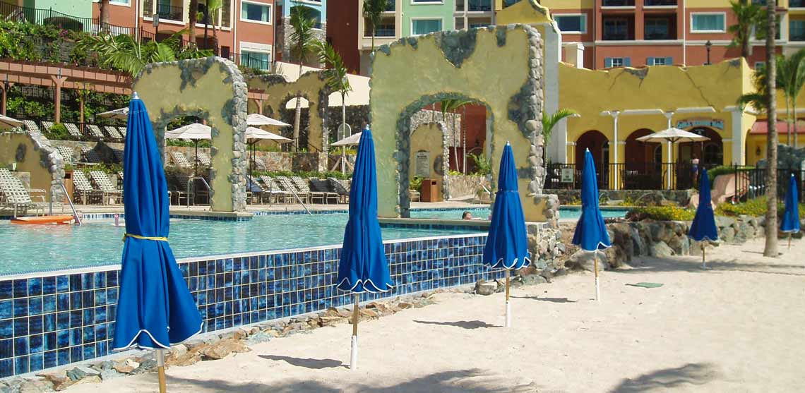 Marriott's Frenchman's Cove Poolscape