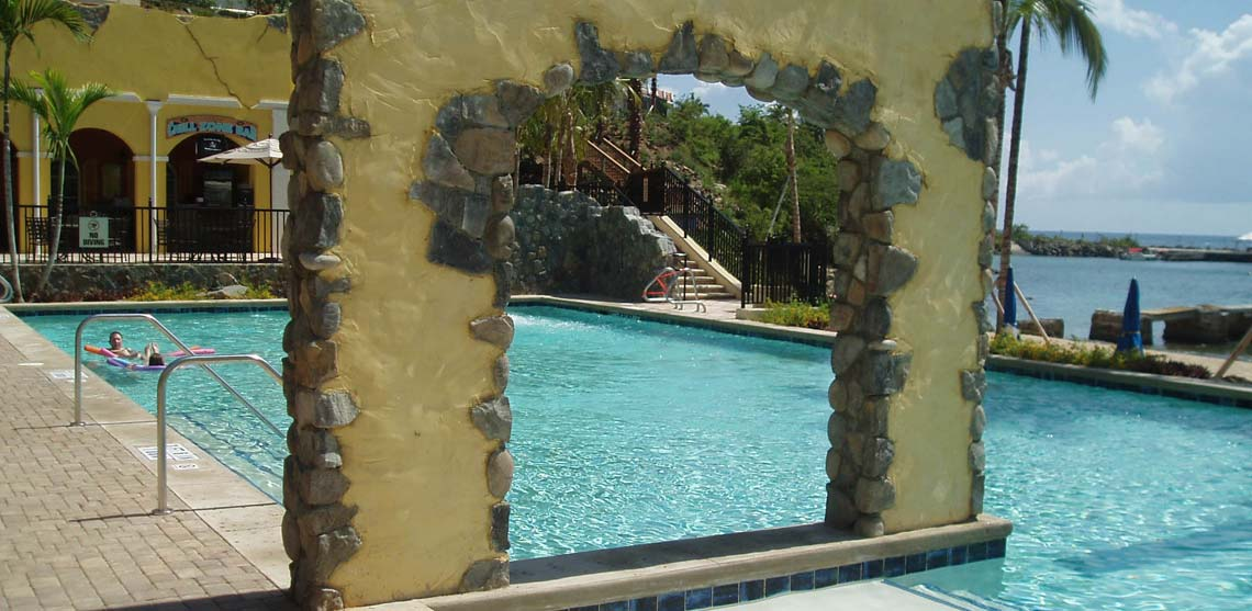 Marriott's Frenchman's Cove Poolscape Waterslide