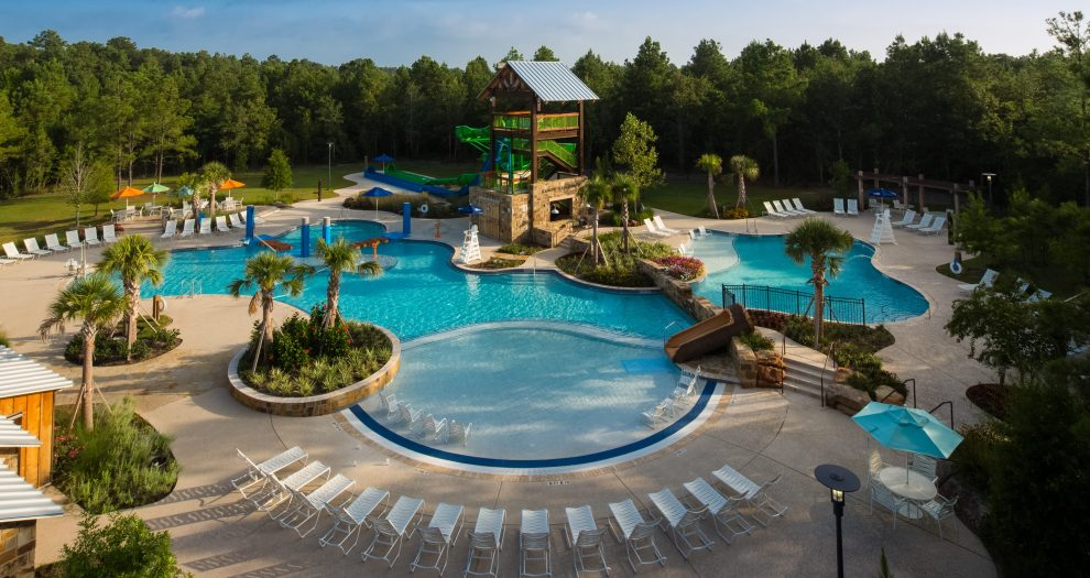 Woodforest Amenity Center Pool
