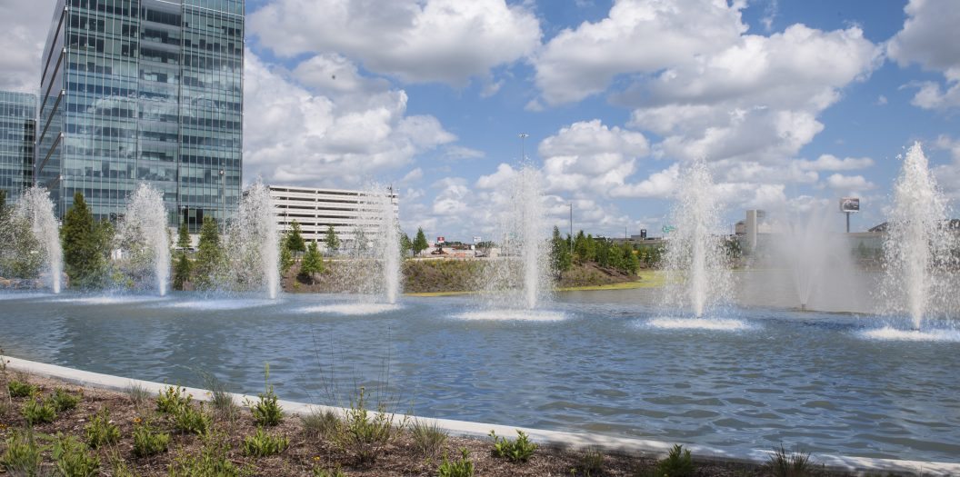 Shell Woodcreek Campus Water Feature