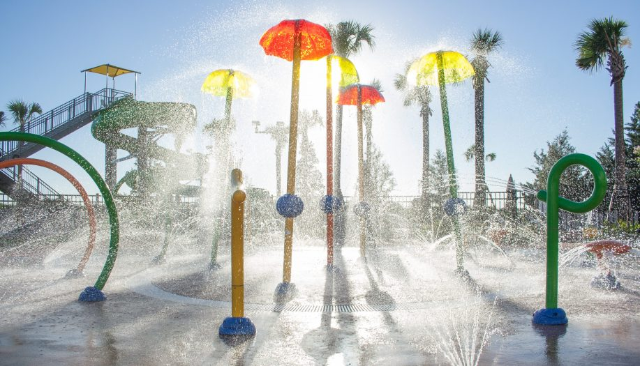 Las Palmeras Interactive Water Feature