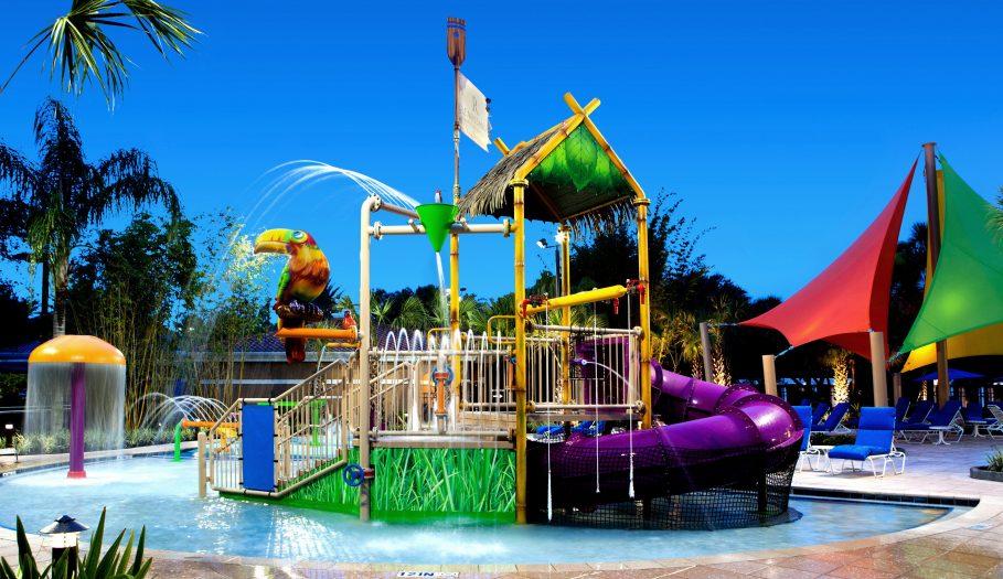 Renaissance SeaWorld Wet Play Structure