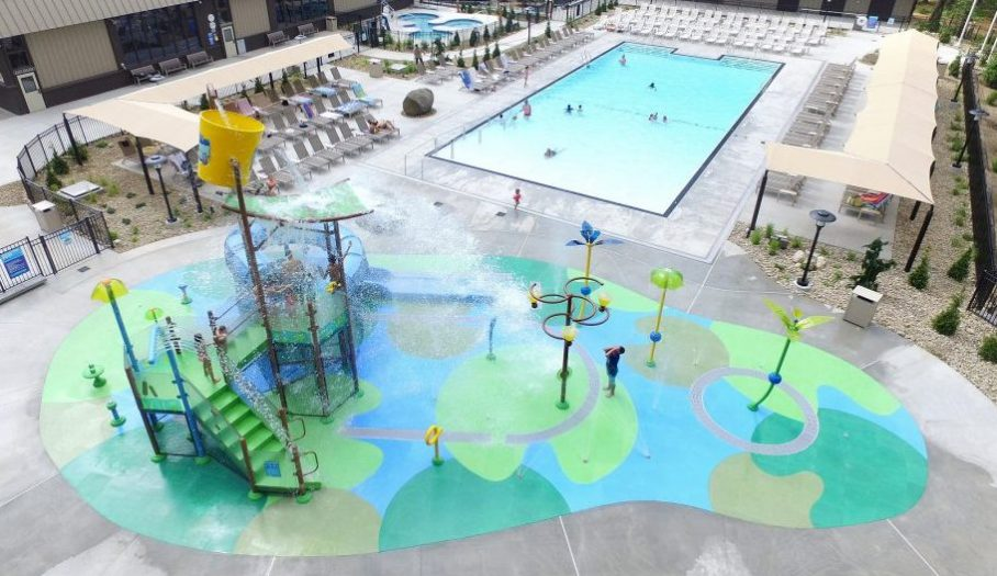 Lake George RV Park Interactive Water Feature