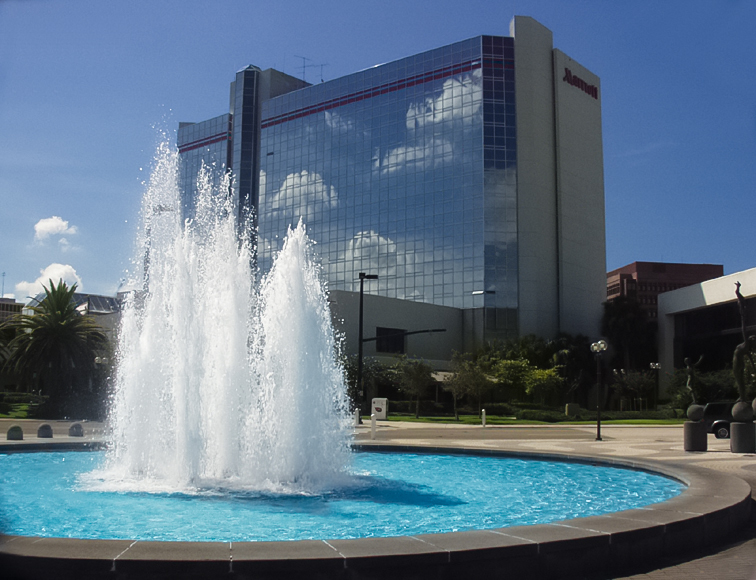 Amway Arena Water Feature