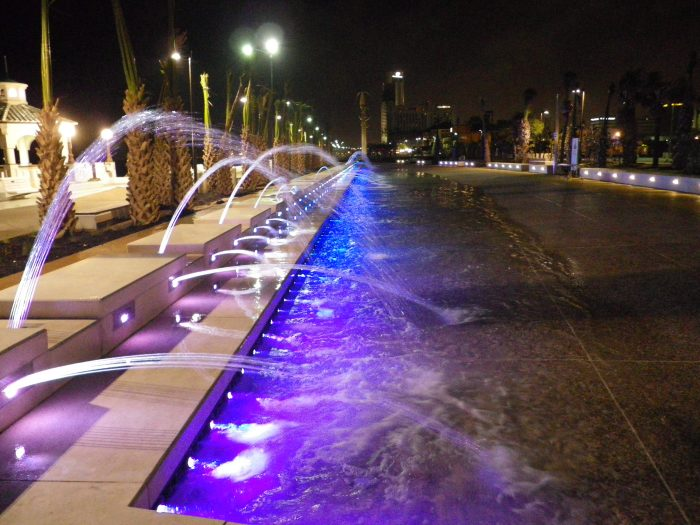 0705 - Corpus Christi Bayfront Show Fountain