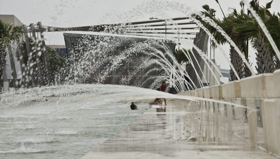 Corpus Christi Bayfront Interactive Water Feature