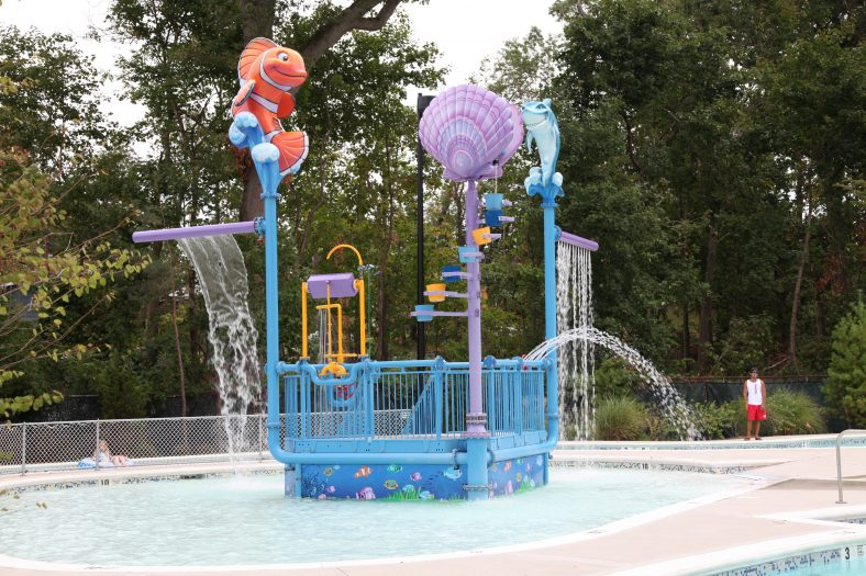 Parkwood Sports Complex Interactive Water Feature