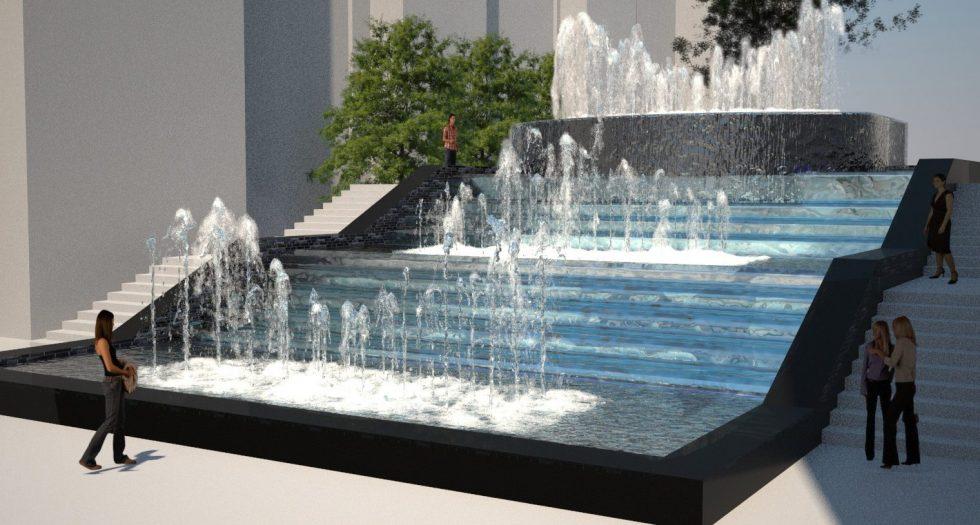 Preston Hollow Water Feature Concept Design