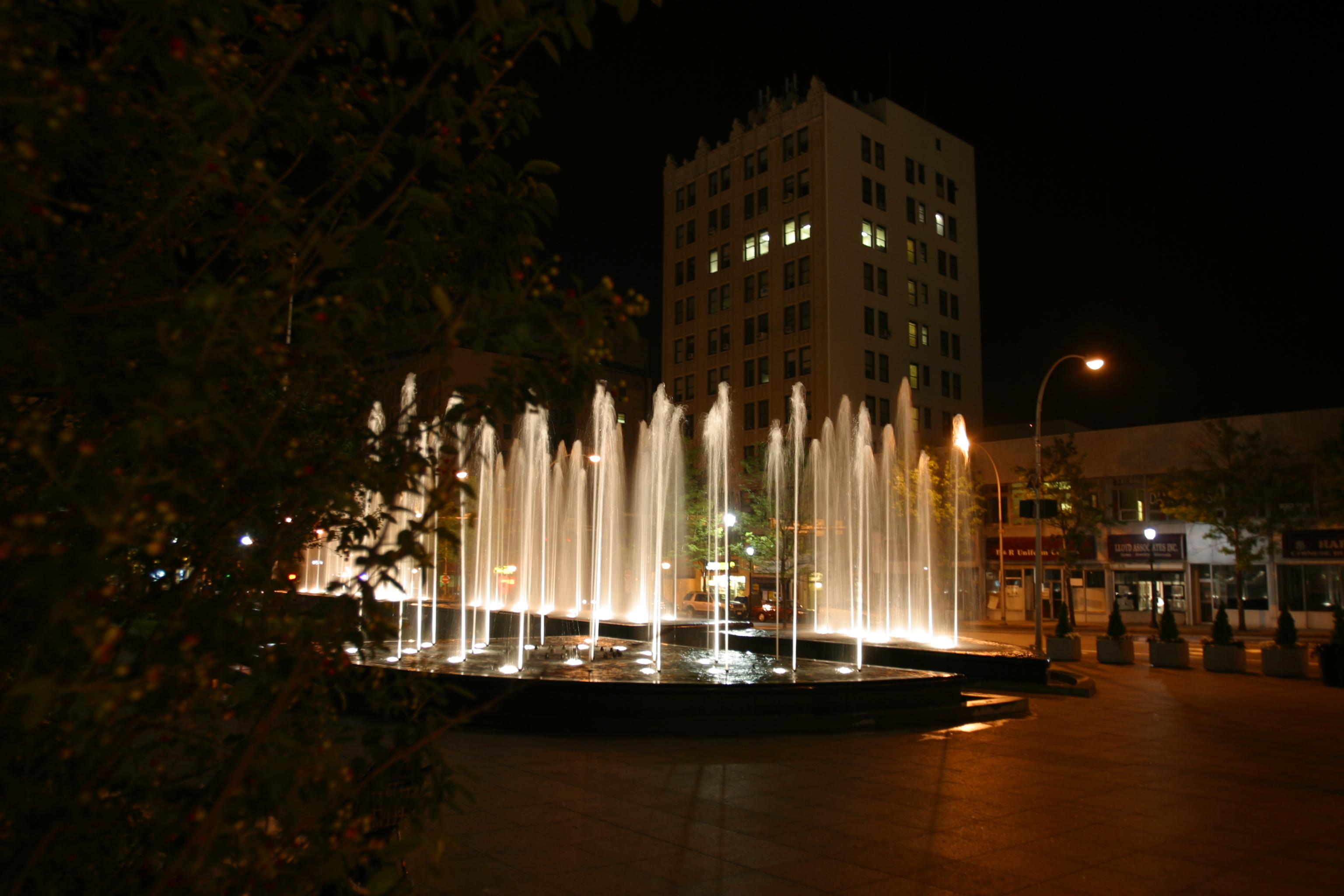 Renaissance Plaza Fountain