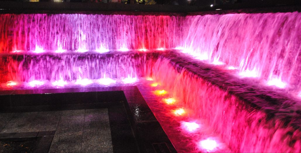 Smale Riverfront Park Interactive Water Feature