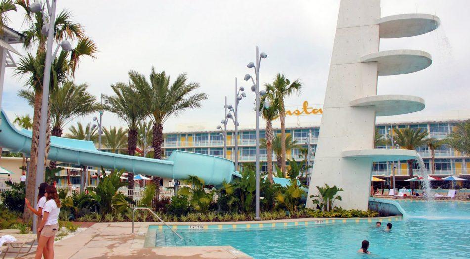 Universal's Cabana Bay Resort Pool Slide