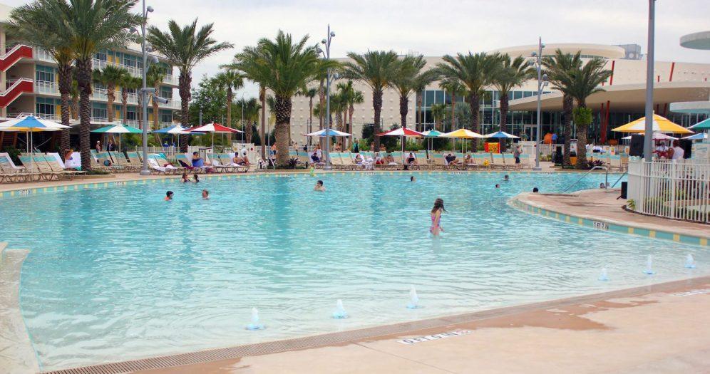 Universal's Cabana Bay Zero Entry Pool