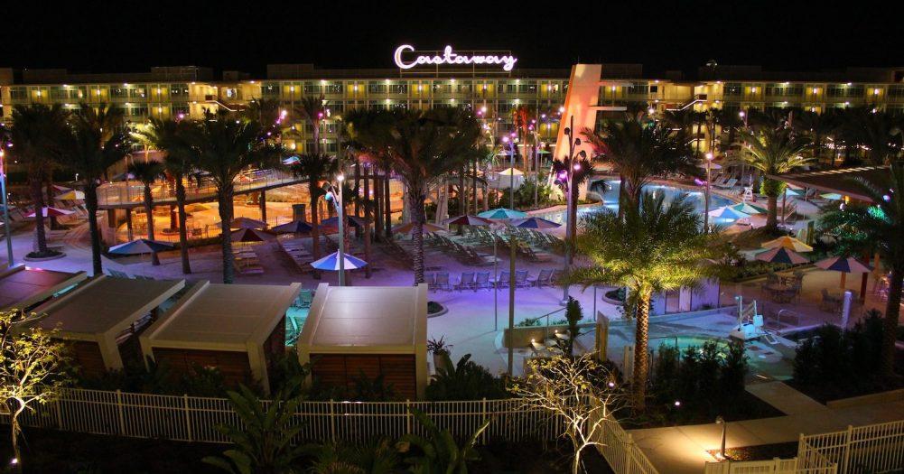 Universal's Cabana Bay Resort Poolscape