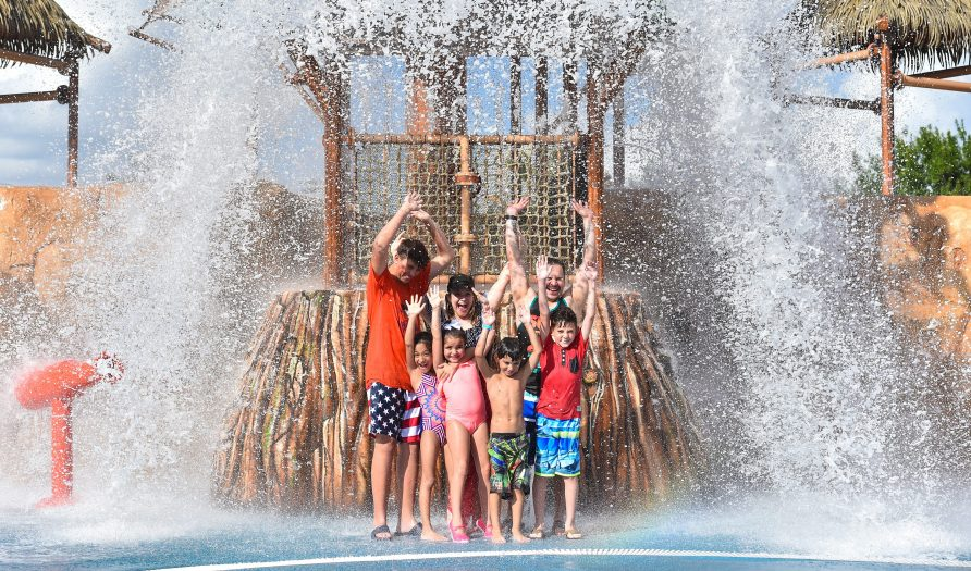 Morgan's Inspiration Island Interactive Water Feature