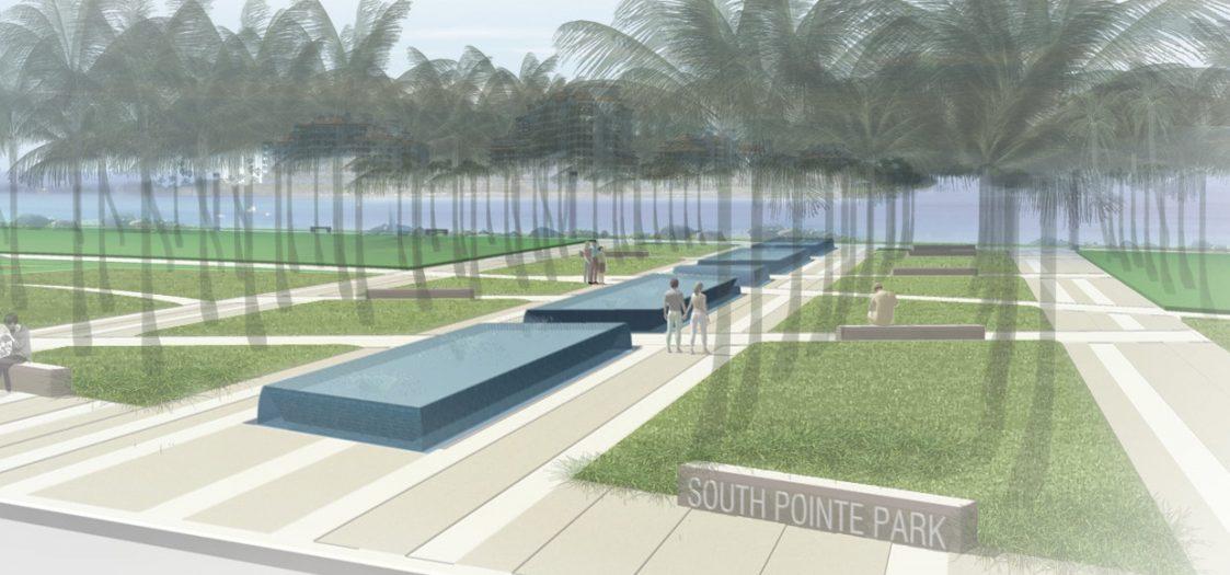 South Pointe Park Design Concept