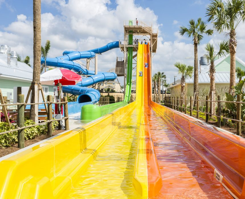 Reunion West Aqua Park Waterslides