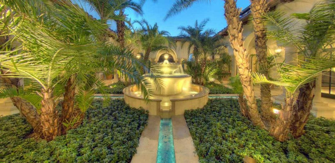 The Cloister Spa at Sea Island Resort Water Feature