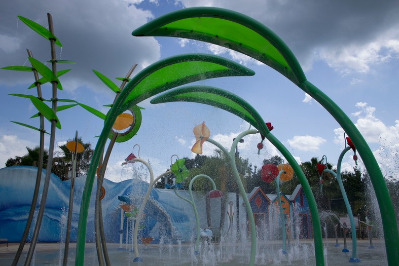 Give Kids The World Interactive Water Feature