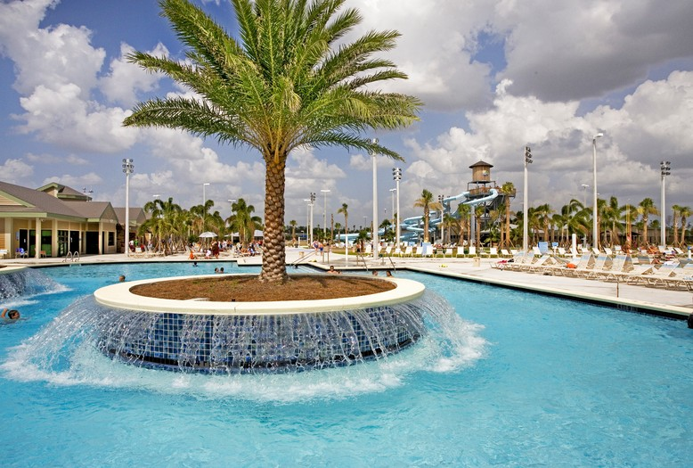 North Collier Regional Park In-Pool Water Feature