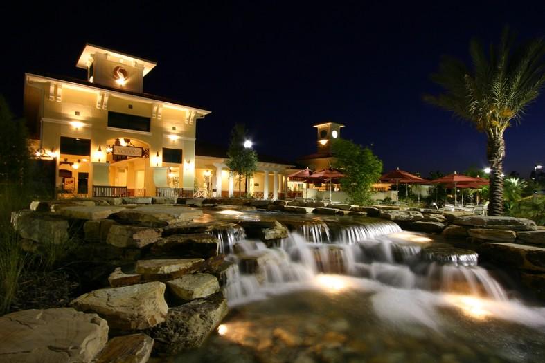 Orange Lake Resort's River Island Water Feature