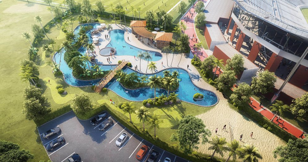 University of Central Florida's Recovery Cove Lazy River