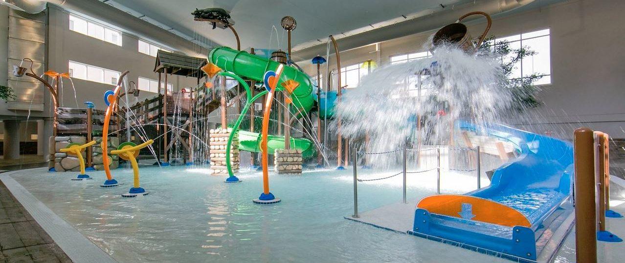 Holiday Inn Smoky Mountain Resort Interactive Water Feature