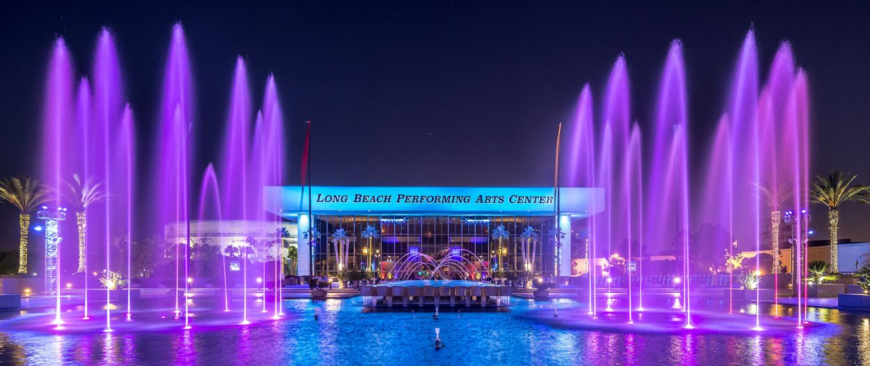 Long Beach Performing Arts Center Water Feature