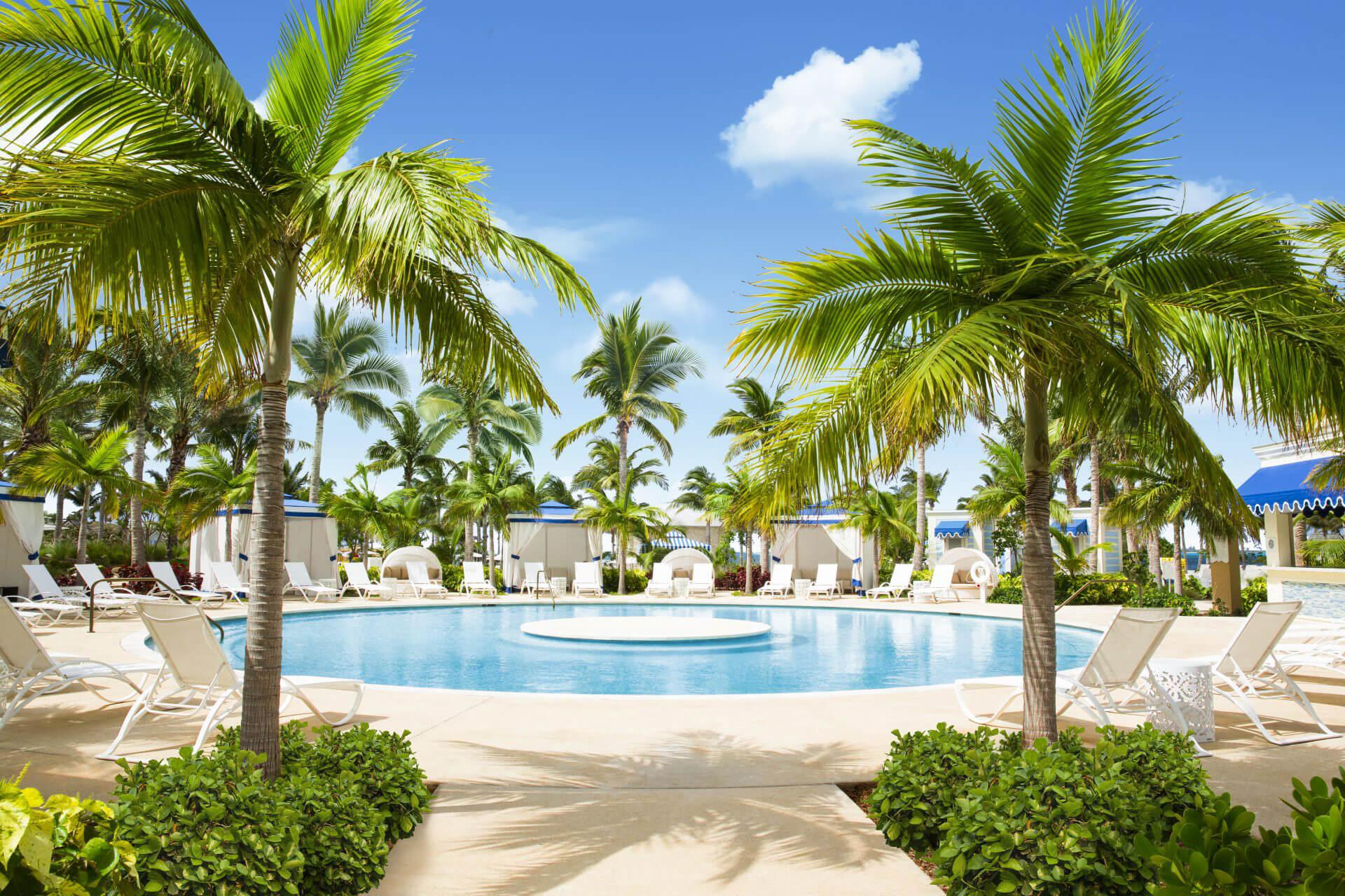 Martin Aquatic designed the resort pool at Baha Mar
