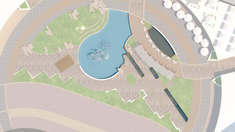 Realm at Cast Hills site plan example