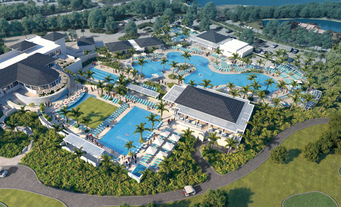 Boca West Country Club's expansion features multiple pools for families and adults