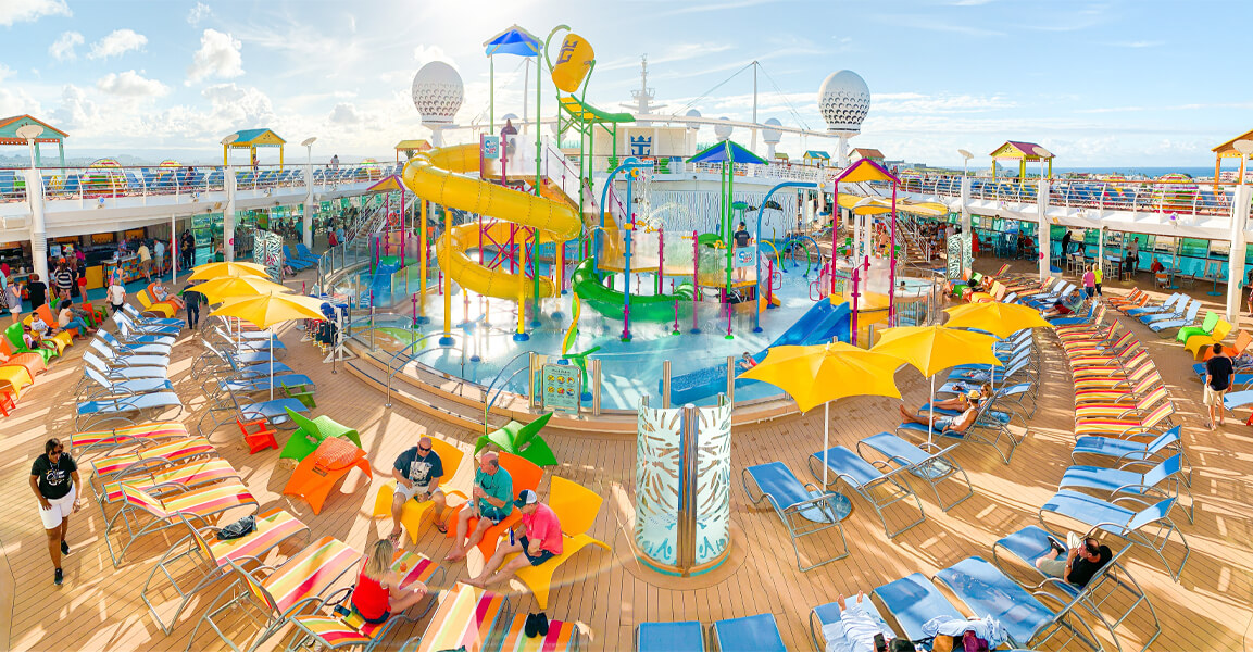 Freedom of the Seas features a new Splashaway Bay